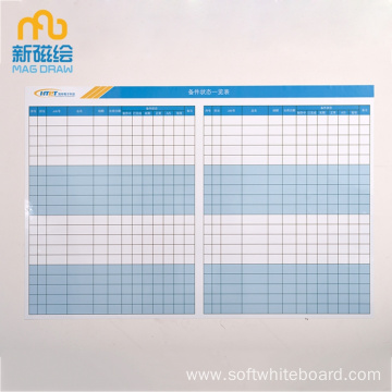 Magnetic Classroom Dry Erase Whiteboard Schedule