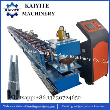 rolling door guide rail machine