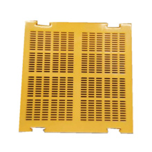 Dewatering polyurethane mesh screen panel