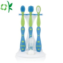 Promotion FDA Safe Silicone Baby Tooth Brush