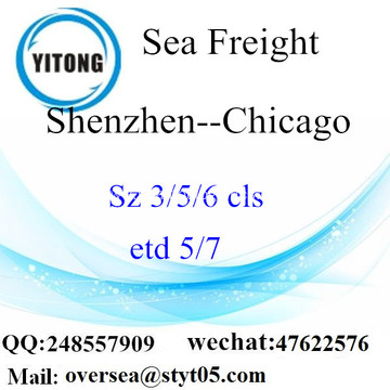 Shenzhen Port LCL Consolidation To Chicago