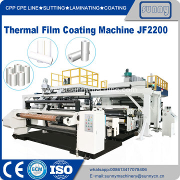 China for China Bopp Film Lamination Machine,Thermal Film Hot Lamination Machine Manufacturer BOPP Thermal film Extrusion coating and laminating machine supply to Italy Manufacturer