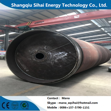 Tire garbage refining to fuel oil machine