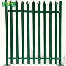 Discount Price Pet Film for High Quality Palisade steel fence Decorative Steel PVC Coated Palisade Garden Europe Fence supply to Afghanistan Manufacturer