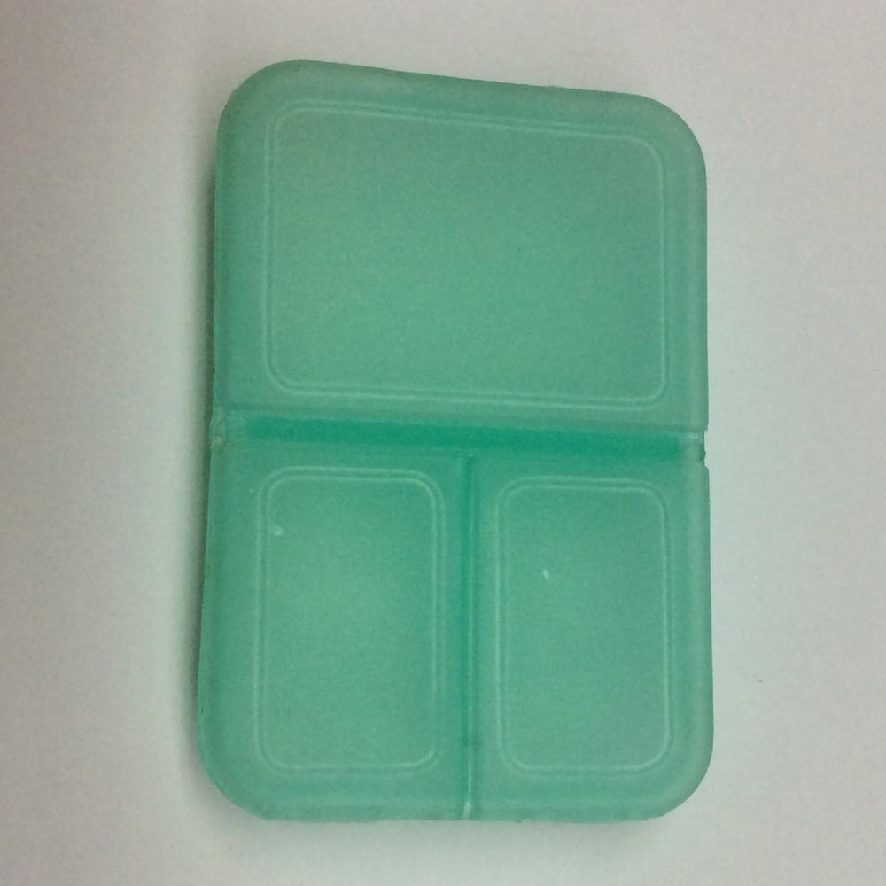Plastic Mini Square Pill Case
