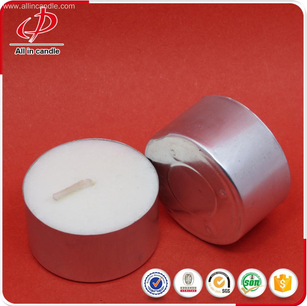 Polybag Package White Tea Light Candle