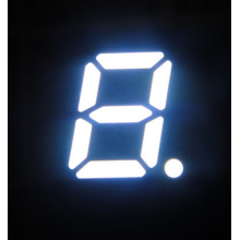 5.0 Inch 7 Segment Single LED Digital Display