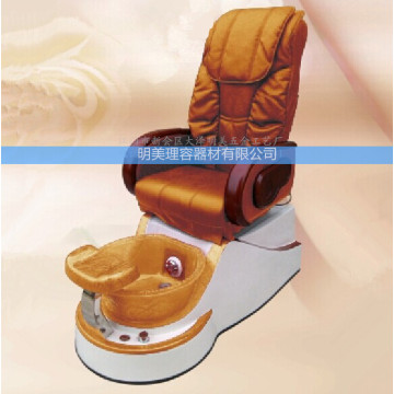 Beauty salon pedicure chair with massage
