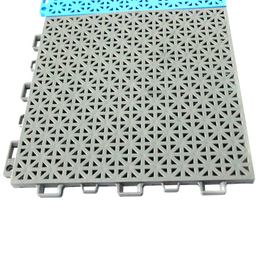 High strength pp plastic waterproof interlock tiles