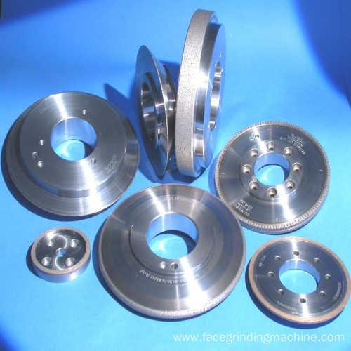 Engine parts crank shaft diamond dressing rolls
