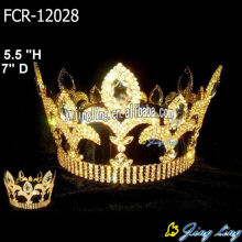 Full Round Pageant Crowns King Crowns For Sale