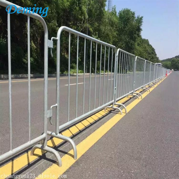 Factory Removable Galvanized Steel Metal Safety Barrier