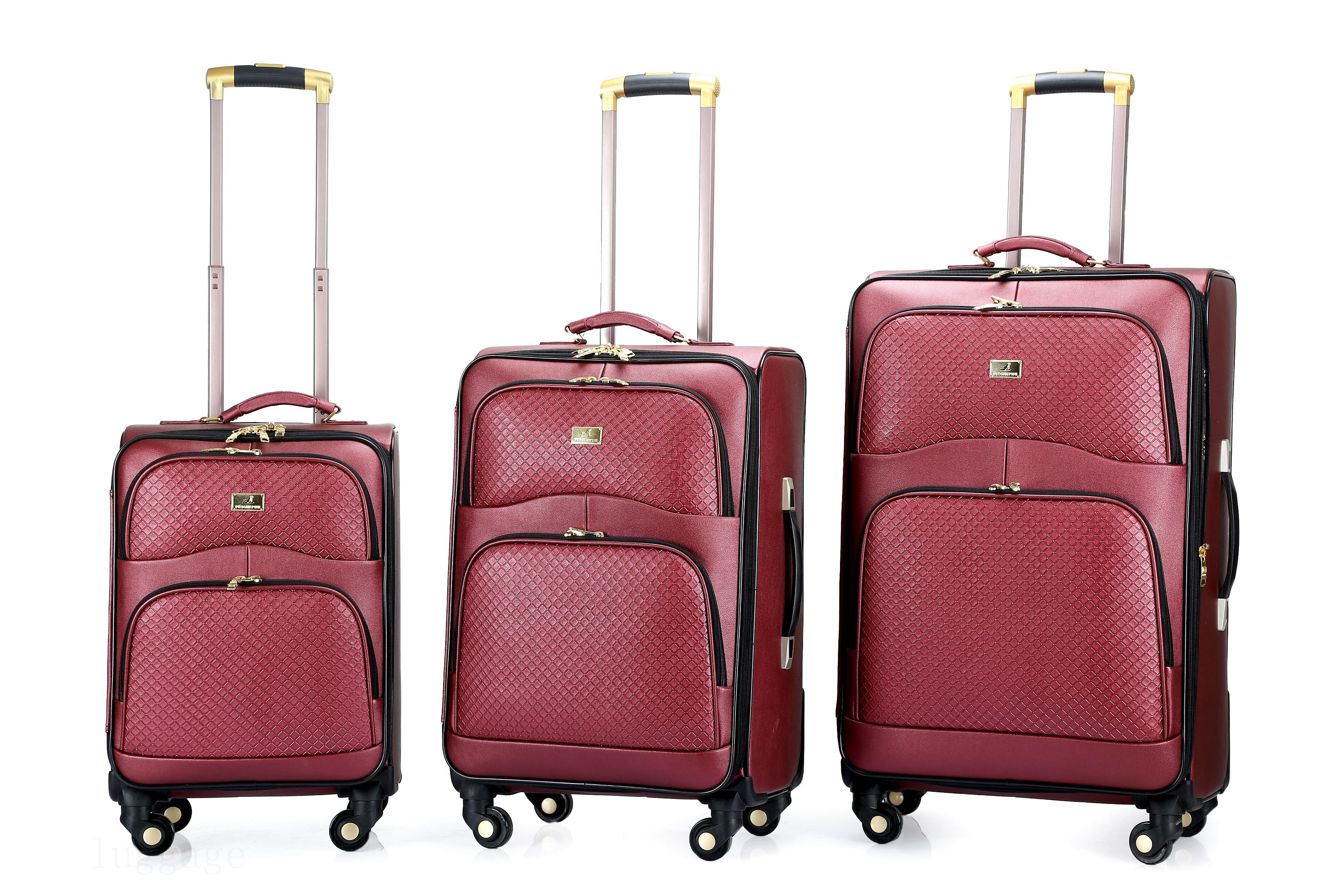 3126#PU luggage
