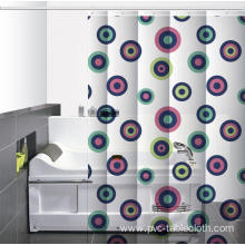 P Kaufmann Waterproof Bathroom printed Shower Curtain