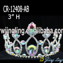 Wholesale Rhinestone Tiaras With Chunky Stone
