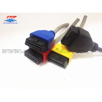 High Permance for Sae J1939 Connector OBD2 Male Connector for Automotive supply to France Suppliers