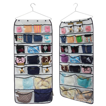 42 pockets Fabric Wall Door Cloth Hanging Storage Bag Case organizer