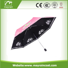 Three Folding Automatic Open Rain Umbrella
