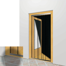 Fixed Competitive Price for Bottom Rail Screen Door Curtain Polyester insect door curtain supply to Portugal Supplier