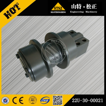 PC200-7 excavator undercarriage carrier roller assy 22U-30-00021