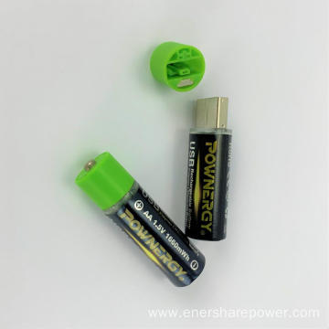 AA Battery With Fast Charger