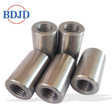 Quality for Bar Swaged Rebar Coupler Reducing Steel Lock Cold Extrusion Rebar Coupler supply to United States Factories