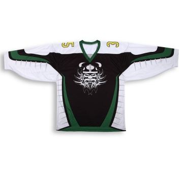 Chinese Professional for Women Ice Hockey Jersey 100% polyester Embroidered logo ice Hockey Jersey For Fans supply to Trinidad and Tobago Factories