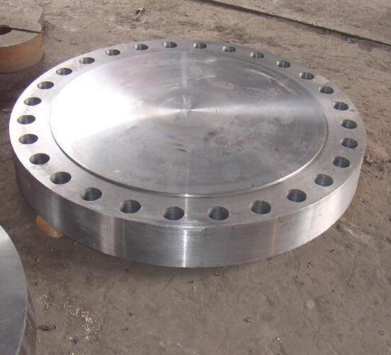 Black pipe blind flange