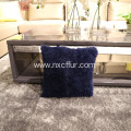 Top quality handmade skin genuine wool lamb cushion