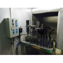 Fully automatic uv spray coating equipment
