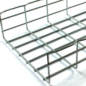 Online Manufacturer for for Wire Basket Tray Hanging Wire Mesh Cable Tray with bracket supply to Nicaragua Factories