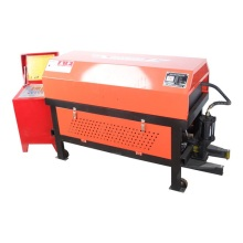 Construction machinery bar straightening and cutting machine