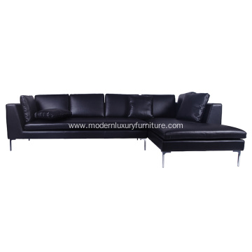 B&B Italia Charles Sectional Sofa Leather Version