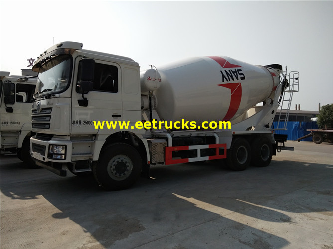 6x4 Beton Transport Mixers