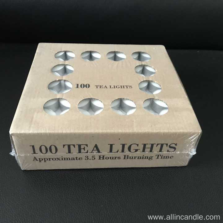 long burn tealight candles 6 hour tea lights