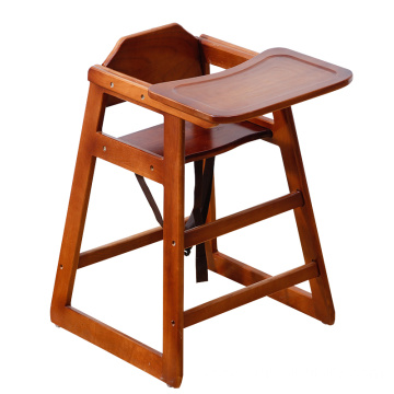 Best quality and factory for High Quality Baby High chair Restaurant wooden portable modern baby feeding eating high chair supply to El Salvador Wholesale