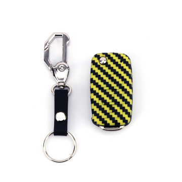 Carbon Fiber Key Cover voor VW