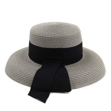 Floppy auditions knitted paint summer straw hat