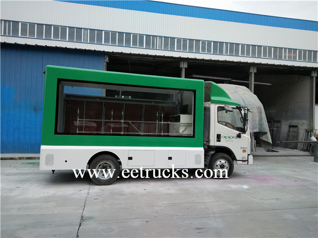 LED Advertising Trucks