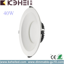 High Definition for 10 Inch Recessed LED Downlight White 10 Inch LED Downlights 40W Lights supply to Guam Importers