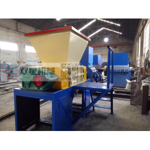 Scrap Rubber shredder Mill Machine equipment