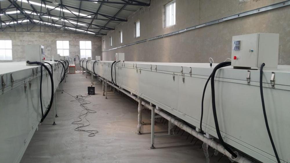 drying section1 for Stone Coated Metal Roofing Product Line