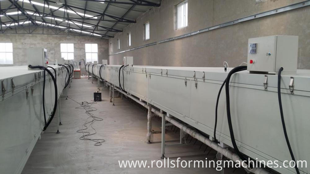 drying section1 for Stone Covered Metal Roofing Machine