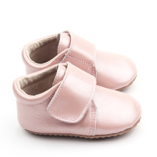 Newborn Pink Wide Strap Baby Girl Casual Shoes
