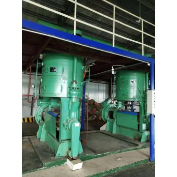 Big cold oil press machine