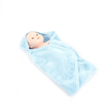 High quality cotton Knitted minky baby blanket