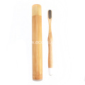 Portable Natural Bamboo Toothbrush Package Tube