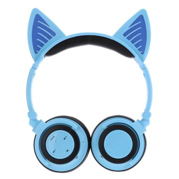 Leading for Wireless Noise Cancelling Headphones Kids Cat Ear Headphone Promotional Stylish Wireless Headsets export to Malaysia Supplier