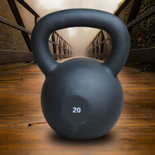 Europe style for for PVC Coated Cast Iron Kettlebell Powder Coated Cast Iron Kettlebell supply to Martinique Supplier