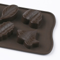 Leaves Shape Silicone Cake Mold